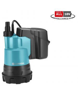 Аккумуляторный насос для чистой воды Gardena 2000/2 18V P4A - без аккумулятора и зарядного устройства (14600-66)