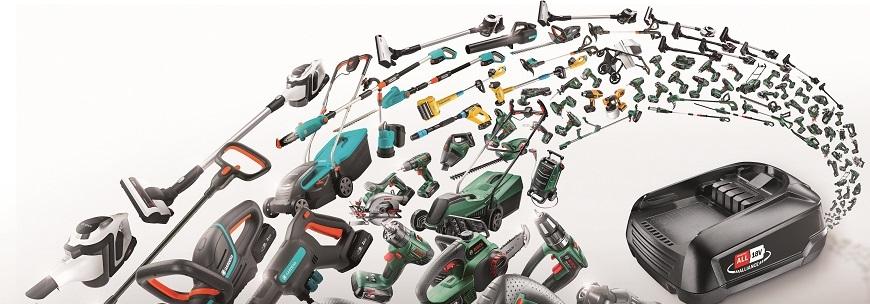 Gardena&Bosch Battery Alliance