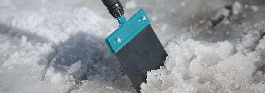 Скребки для льда