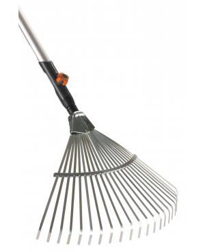 Грабли стальные веерные Gardena Combisystem 50 см и ручка деревянная 130 см (03022-20)