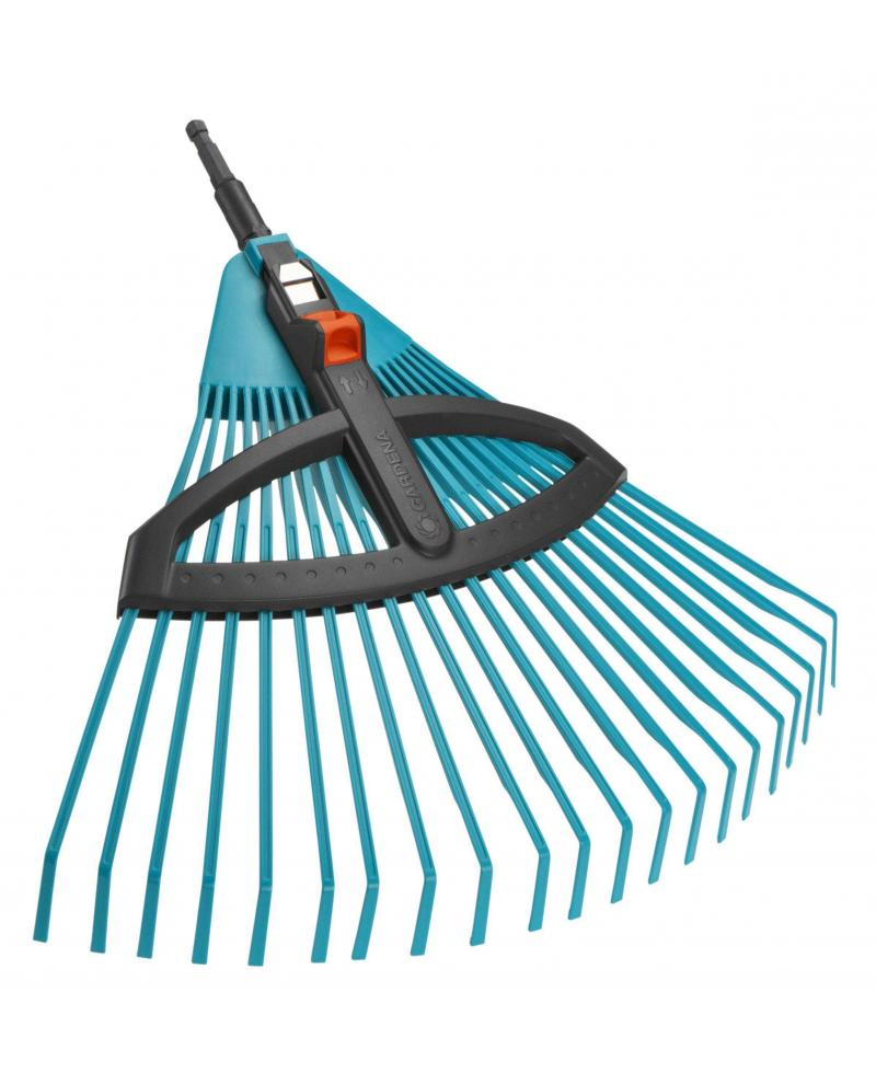 Граблі пластикові віялові регульовані Gardena Combisystem 35-52 см (03099-20)