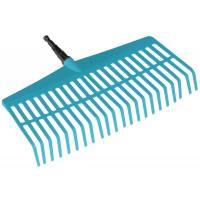Граблі пластикові легкі для газонів Gardena Combisystem 43 см (03101-20)