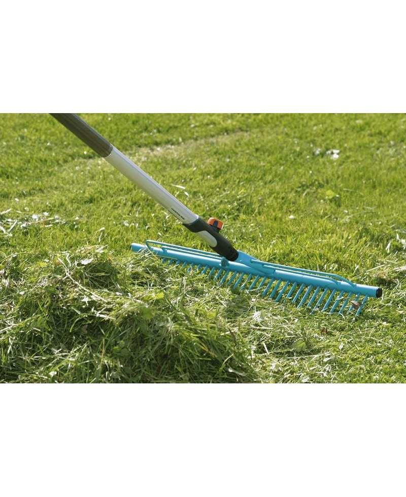 Граблі сталеві для очищення газонів Gardena Combisystem 60 см (03381-20)