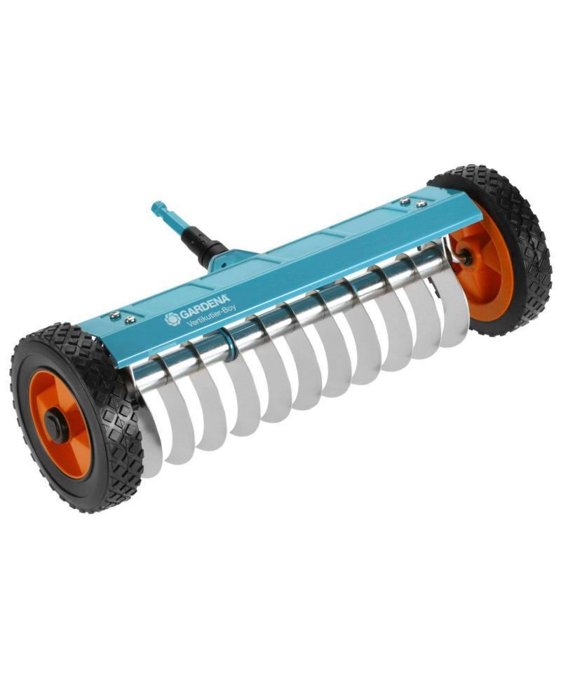 Граблі фрезеруючі на колесах для газонів Gardena Combisystem 32 см (03395-20)