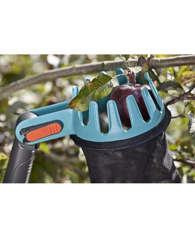 Набор садовых инструментов Gardena CombiSystem с телескопической ручкой 210-390 см (03721-30)