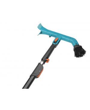 Щетка для очистки жолобов Gardena Combisystem с телескопической ручкой 210-390 см (03651-30)