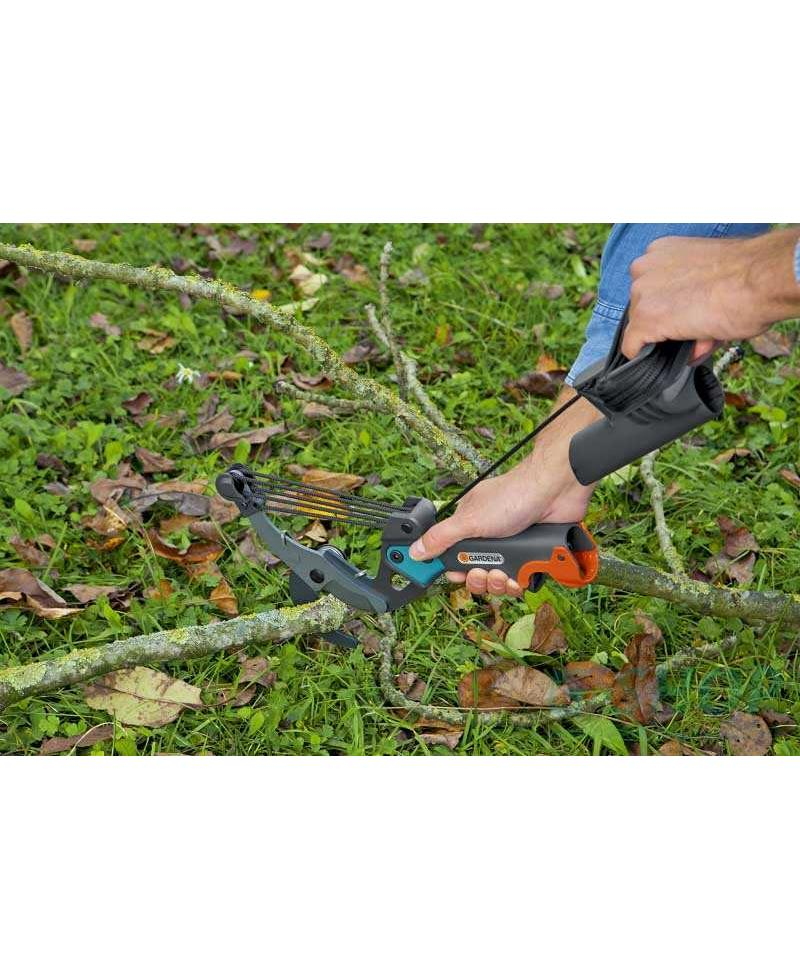 Сучкорез для зеленых веток Gardena CombiSystem Bypass до 35 мм (00298-20)