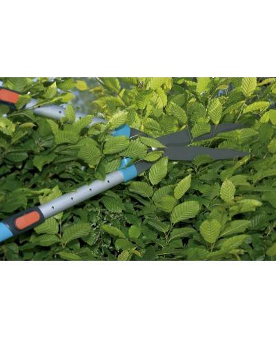 Ножницы для живой изгороди телескопические Gardena Comfort 700 T и секатор Classic 8754 (00394-30)