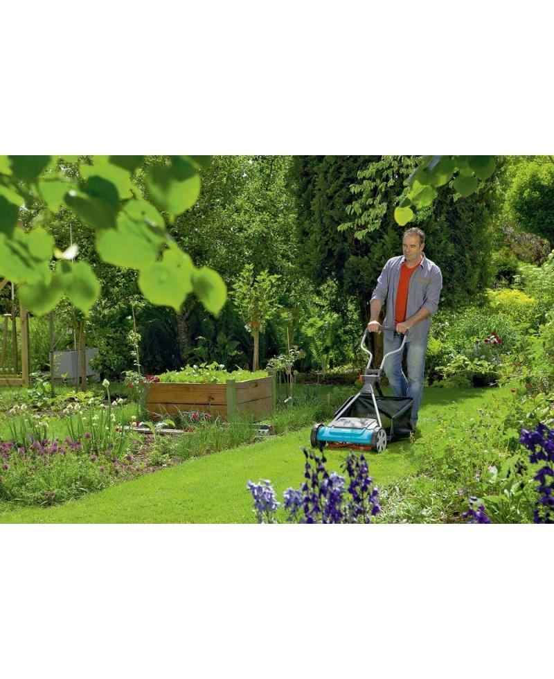 Механическая барабанная газонокосилка Gardena Comfort 400 С (04022-20)