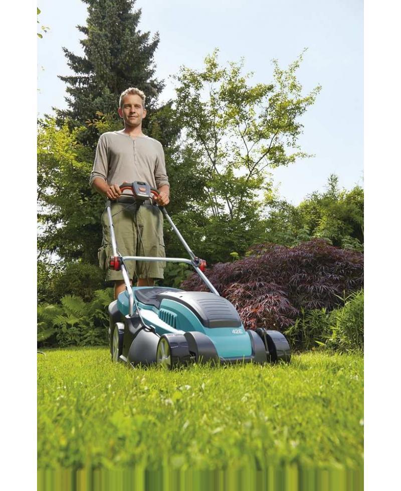 Електрична газонокосарка Gardena PowerMax 42E з мульчуванням (04076-20)