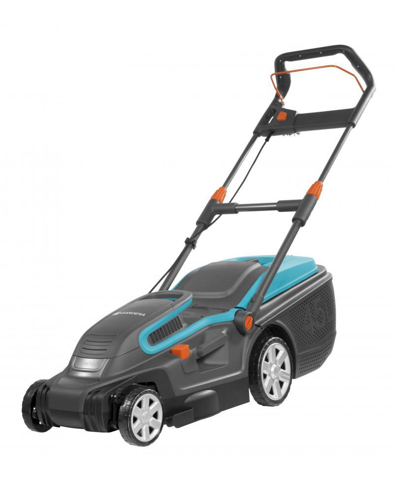Распродажа - Электрическая газонокосилка Gardena PowerMax 1600/37 с мульчированием (05037-20)