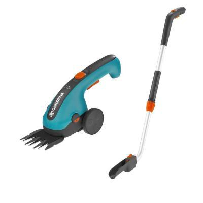 Ножиці для газонів акумуляторні з телескопічною ручкою і колесами Gardena ClassicCut (09855-20)