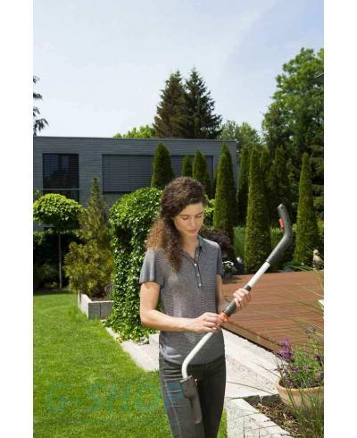 Ножницы для газонов аккумуляторные с телескопической ручкой и колесами Gardena ClassicCut (09855-20)