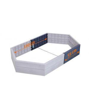 Удлинитель для высокой грядки Graf Ergo Raised Bed, 2 шт, 55 см (645101)