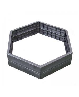 Высокая грядка Graf Ergo Raised Bed, 6 панелей, теплая (645100)