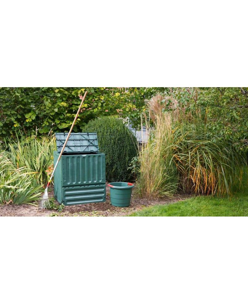 Компостер садовый Graf Eco-King 400 л, зеленый (627003)