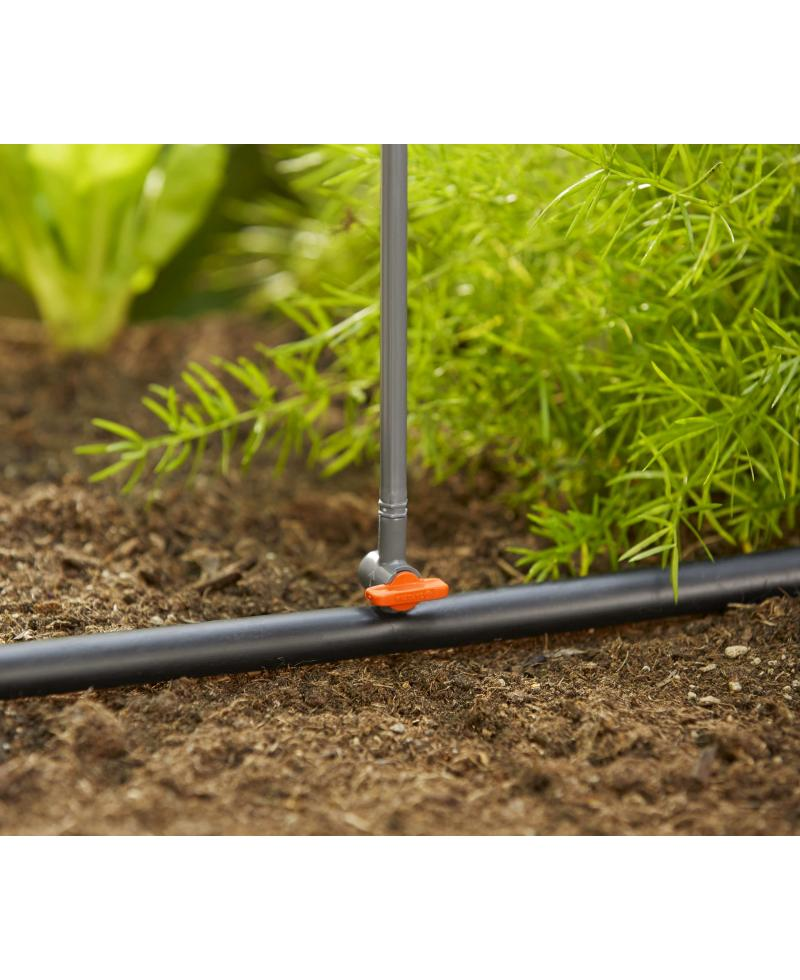 Кран запірний Gardena Micro-Drip-System для мікронасадок (01374-29)