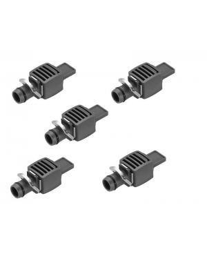 Заглушка Gardena Micro-Drip-System Quick & Easy для шлангів 13 мм, 5 шт (08324-29)