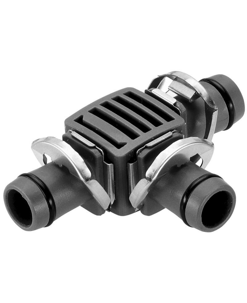 З'єднувач Т-подібний Gardena Micro-Drip-System Quick & Easy для шлангів 13 мм (08329-29)