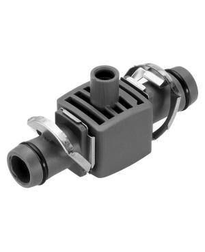 Соединитель T-образный для микронасадок Gardena Micro-Drip-System Quick & Easy для шлангов 13 мм, 5 шт (08331-29)