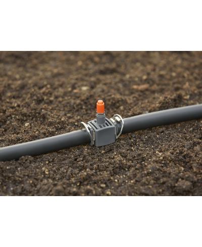 З'єднувач T-подібний для мікронасадок Gardena Micro-Drip-System Quick & Easy для шлангів 13 мм (08331-29)