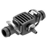 З'єднувач Т-подібний Gardena Micro-Drip-System Quick & Easy для шлангів 13 мм перехідник до 4,6 мм (08333-20)