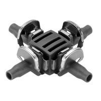З'єднувач хрестоподібний Gardena Micro-Drip-System Quick & Easy для шлангів 4,6 мм (08334-29)