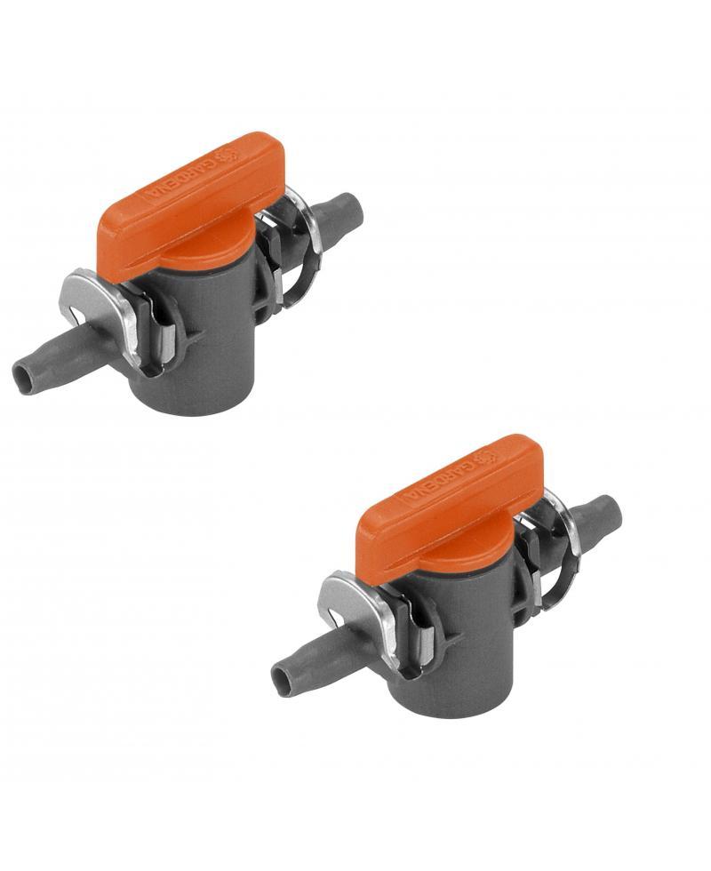 Кран запірний Gardena Micro-Drip-System Quick & Easy 4,6 мм (08357-29)