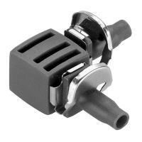 З'єднувач L-подібний Gardena Micro-Drip-System Quick & Easy для шлангів 4,6 мм (08381-29)