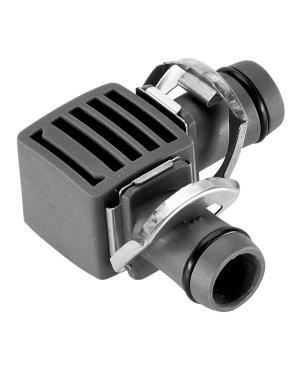 Соединитель L-образный Gardena Micro-Drip-System Quick & Easy для шлангов 13 мм, 2 шт (08382-29)