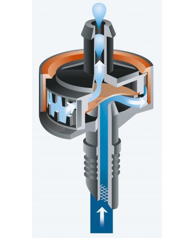 Крапельниця Gardena Micro-Drip-System Quick & Easy внутрішня 2 л/год (08311-29)