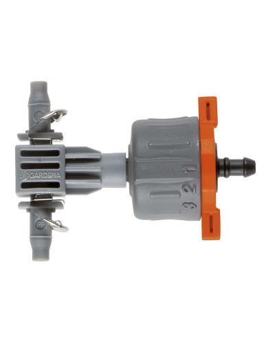 Крапельниця Gardena Micro-Drip-System Quick & Easy внутрішня регульована (08317-29)