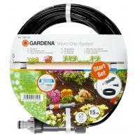 Комплект микрокапельного полива Gardena Micro-Drip-System для рядного полива 4,6 мм 15 м (01361-37)