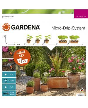 Комплект микрокапельного полива Gardena Micro-Drip-System базовый (13001-20)