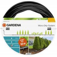 Комплект мікрокрапельного поливу Gardena Micro-Drip-System для рядного поливу 50 м (13013-20)