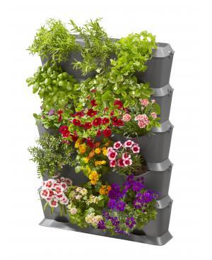 Комплект горшков для микрокапельного полива Gardena Micro-Drip-System NatureUp базовая вертикальная с комплектом для полива (13151-20)