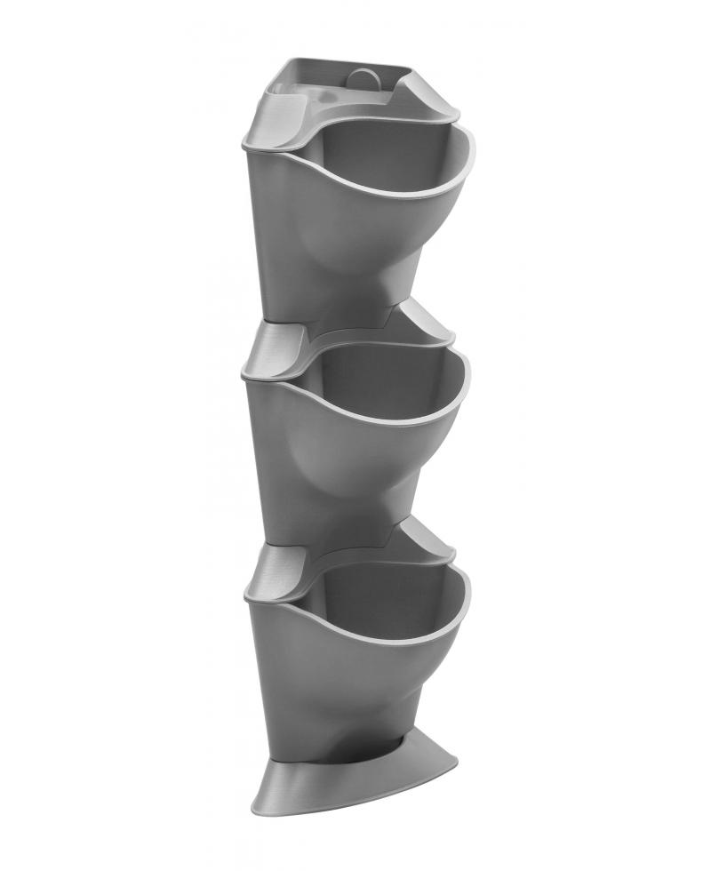 Комплект горщиків для мікрокрапельного поливу Gardena Micro-Drip-System NatureUp кутовий вертикальний (13153-20)