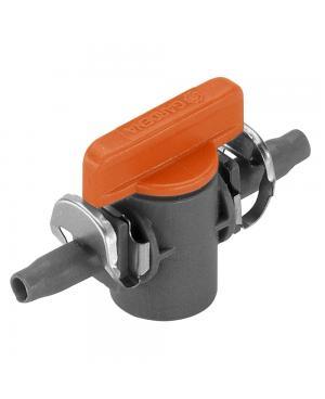 Кран запірний Gardena Micro-Drip-System Quick & Easy 4,6 мм, 1 шт (08357-00.600.00)