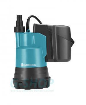 Аккумуляторный насос для чистой воды Gardena 2000/2 Li-18 без батареи и зарядного устройства (01748-55)