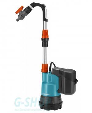 Аккумуляторный насос для резервуаров Gardena 2000/2 Li-18 без батареи и зарядного устройства (01749-55)