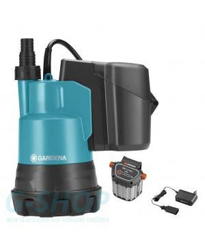 Аккумуляторный насос для чистой воды Gardena 2000/2 Li-18 Set (01748-20)