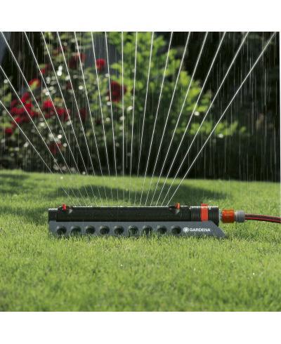 Дощувач осцилюючий Gardena Aquazoom Comfort 350/2 (01975-20)