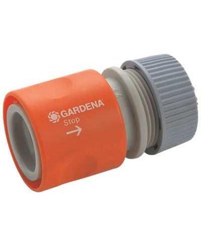 З'єднувач Gardena стандартний з автостопом для шланга 13 мм і 15 мм (02913-29)