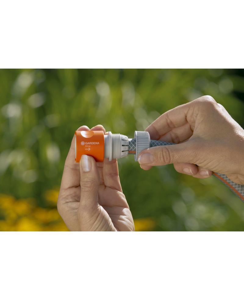З'єднувач Gardena стандартний з автостопом для шланга 19 мм (02914-29)