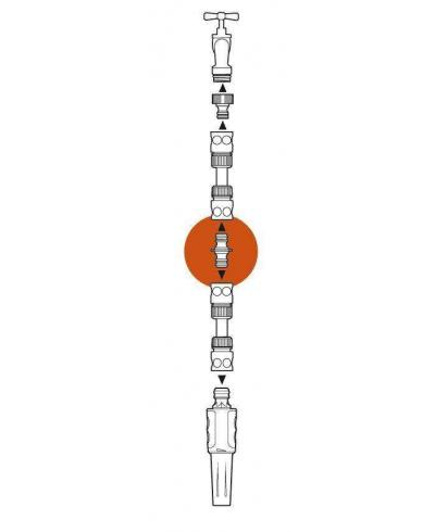 З'єднувач Gardena для шлангів 13 і 19 мм (02931-29)