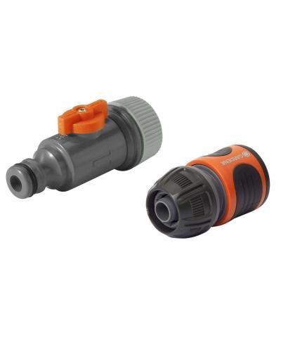 Комплект коннекторов Gardena для сочащегося шланга (01989-20)