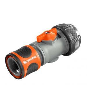 Коннектор с регулятором Gardena для шланга 19 мм 3/4 (02943-20)