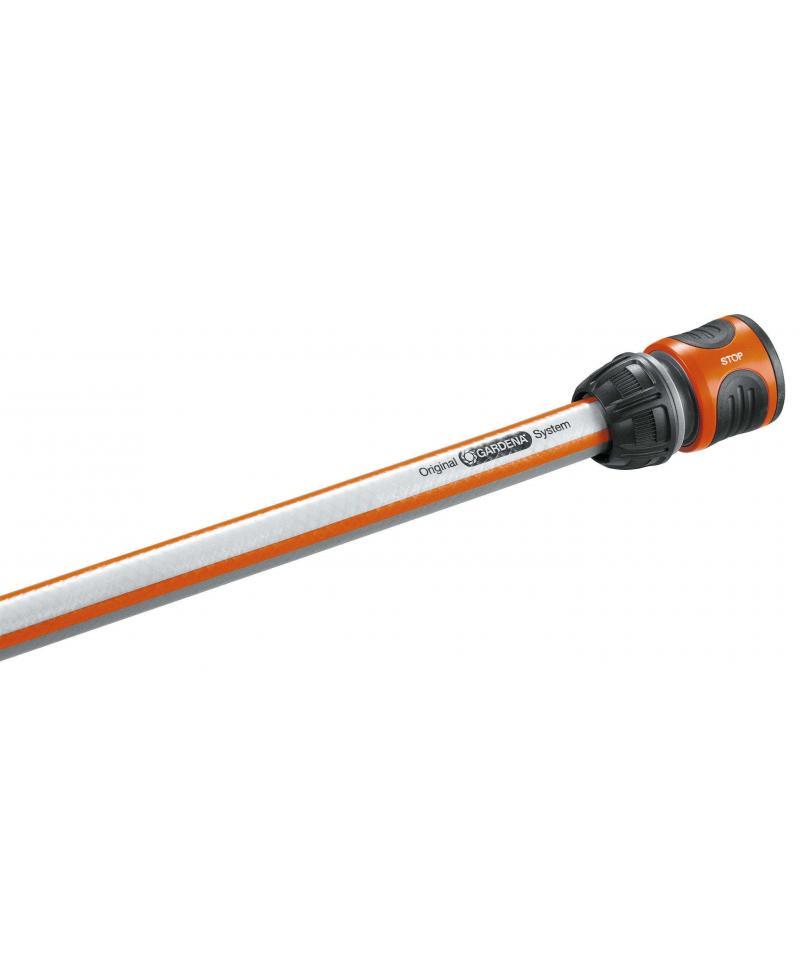 З'єднувач Gardena стандартний з автостопом для шланга 13 мм і 15 мм (18213-29)