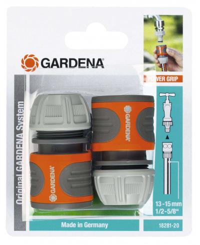 З'єднувач Gardena стандартний для шланга 13 мм набір 2 шт (18281-20)