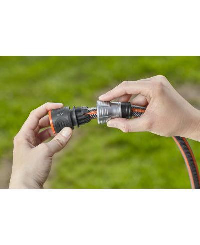 З'єднувач з автостопом Gardena Premium для шланга 13-15 мм (18253-20)